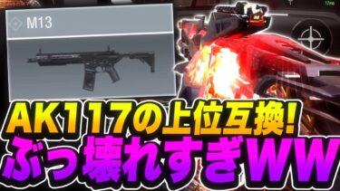 """AK117の上位互換?!""""M13""""最強カスタム紹介!!【CoDモバイル】【ろくたん】"""